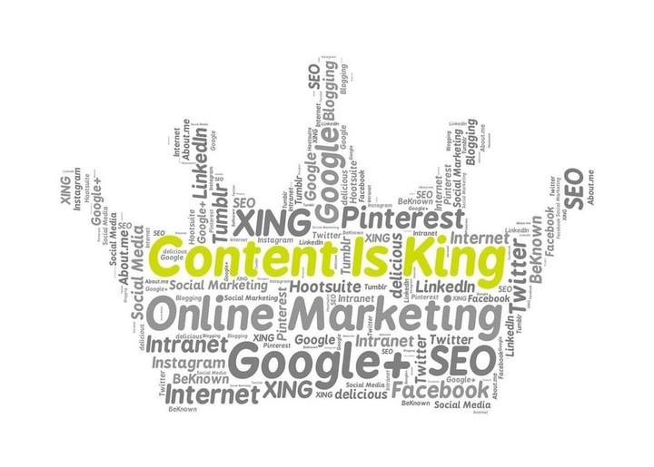 L'importance du contenu pour votre site Web